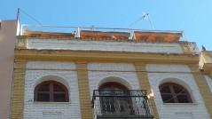 Rehabilitación de cornisa (calle Alemanes, Sevilla)